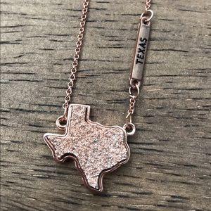 Texas Druzy Necklace